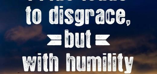 wisdom and humility