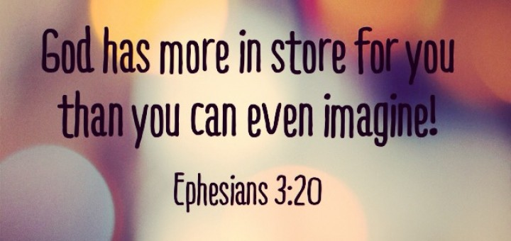 god has more for you