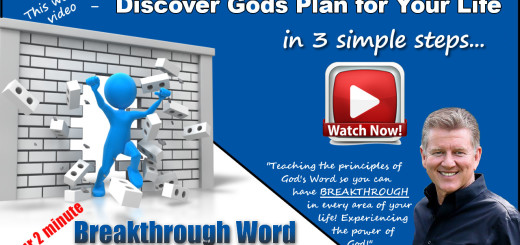 God's Plan for Your Life by Pastor Bruce Edwards