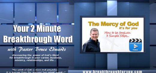 mercy of god by pastor bruce edwards