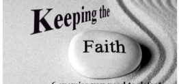 keeping the faith by Pastor Bruce Edwards
