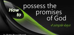 promises of god by Pastor Bruce Edwards